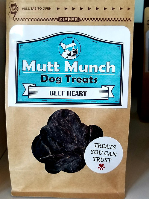 Mutt Munch - Beef Heart