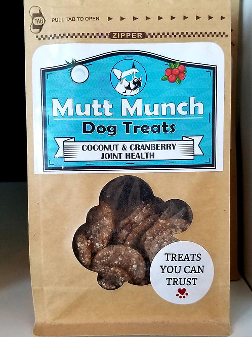 Mutt Munch - Coconut Cranberry Joint Health