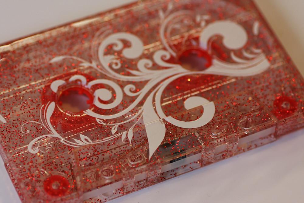 Glitter Effect Cassette Shell