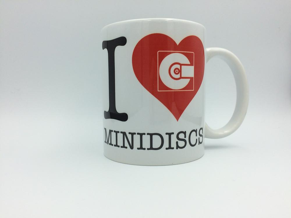 I LOVE MINIDISCS MUG