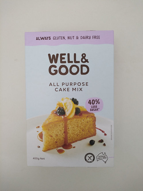 Well & Good All-Purpose Cake Mix 400g