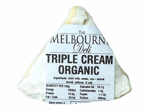 Triple Cream Brie Organic 100g
