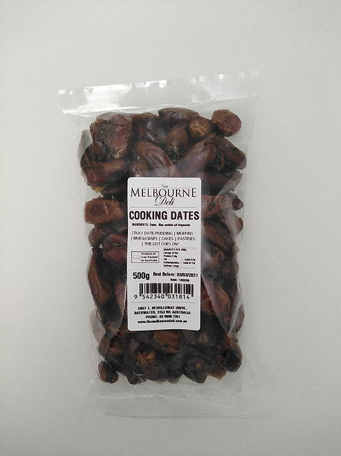 Pitted Cooking Dates 500g