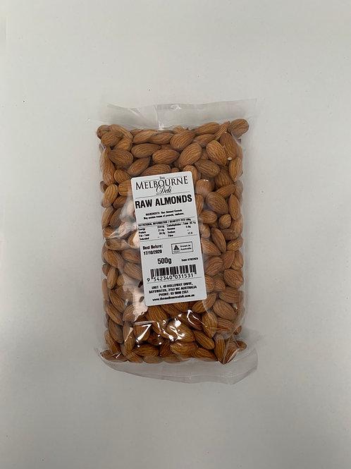 Almonds Raw 500g