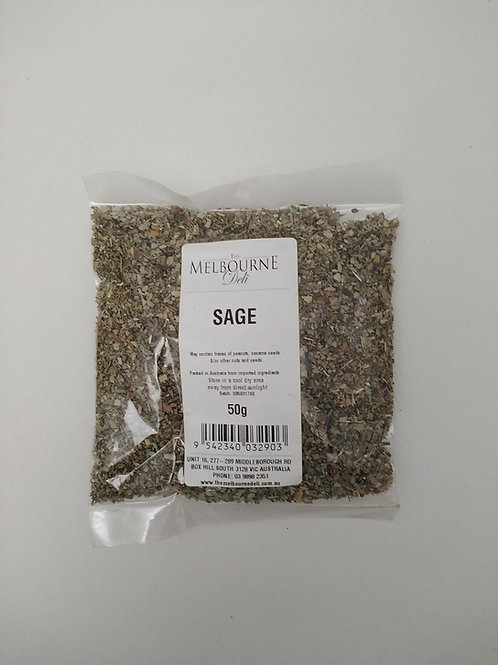 Sage Dried 50g