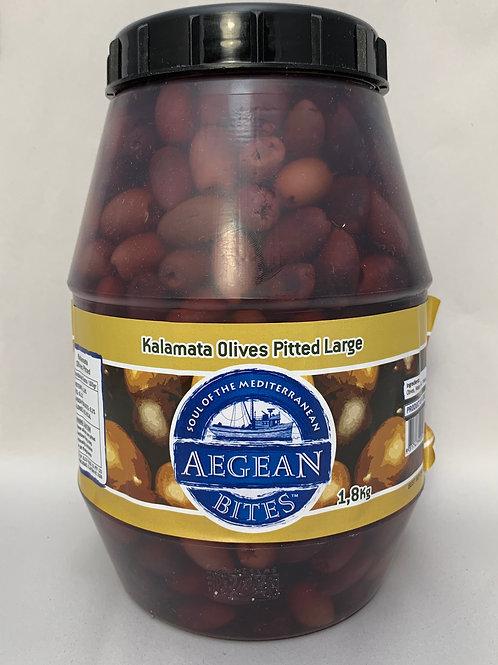 Kalamata Pitted Olives 1.8kg