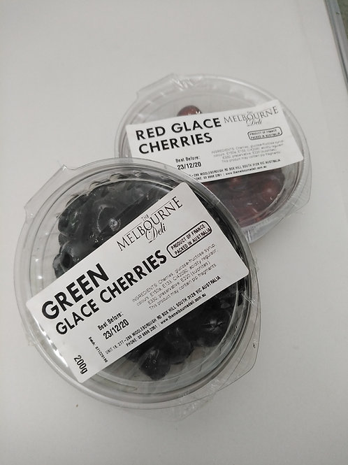 Glace Cherries Red 200g