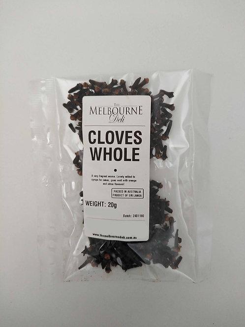 Cloves Whole 20g
