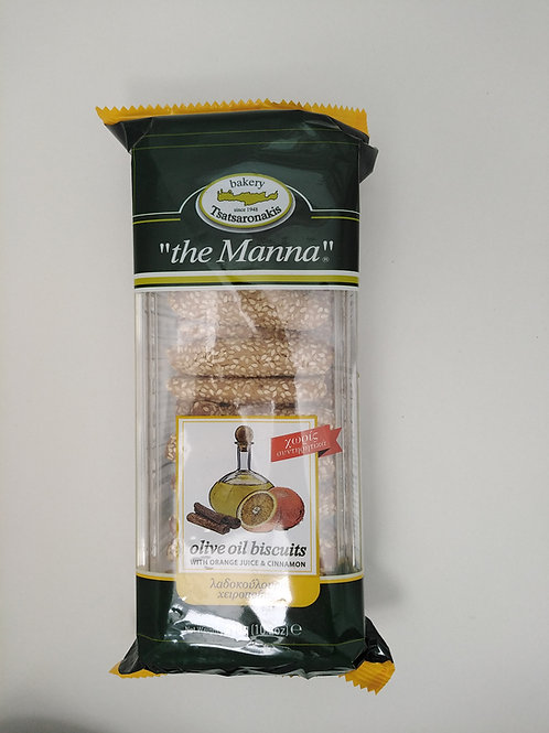 Sweet Biscuits w Olive Oil (Manna) 290g