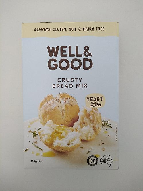 Well & Good Crusty Bread Mix 510g