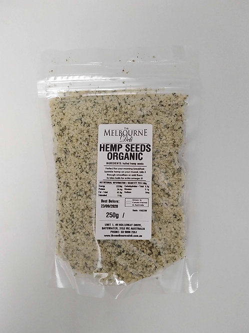 Hemp Seeds Organic 250g TMD