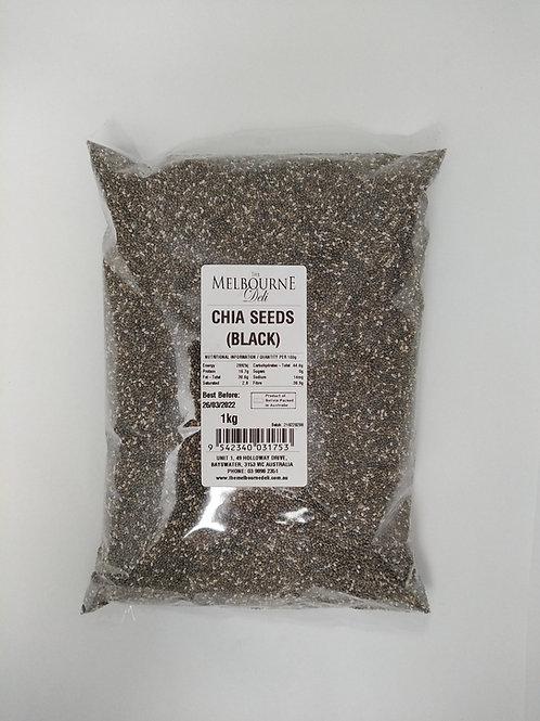 Chia Seeds Black 1kg