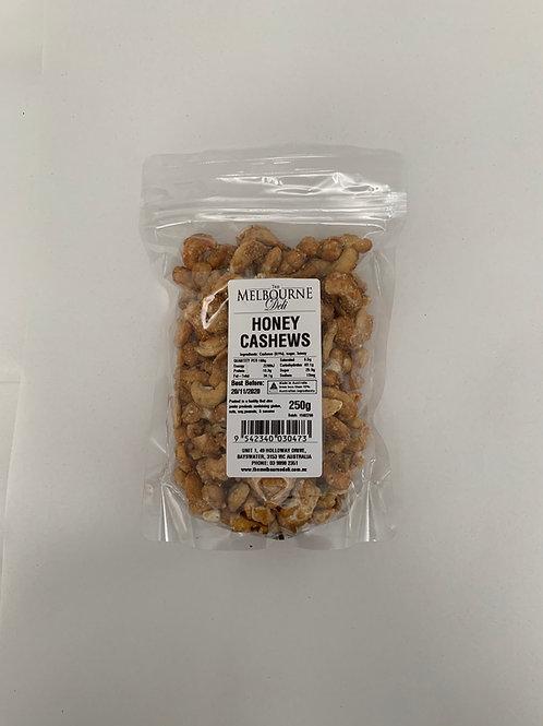 Honey Cashews 250g