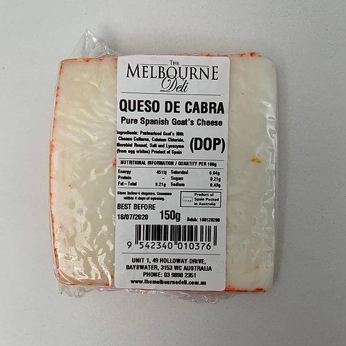 Queso De Cabra Goats Cheese 150g