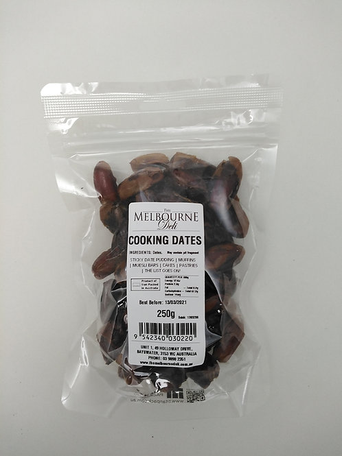 Pitted Cooking Dates 250g