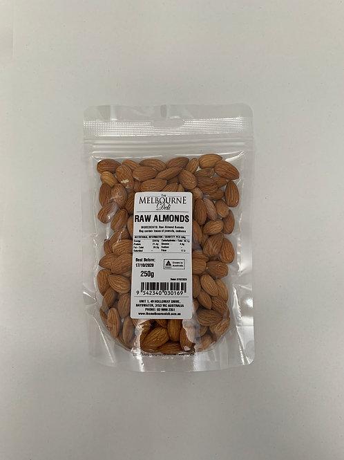 Almonds Raw 250g