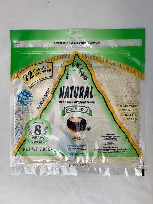 Mountain Bread Wrap Natural 200g