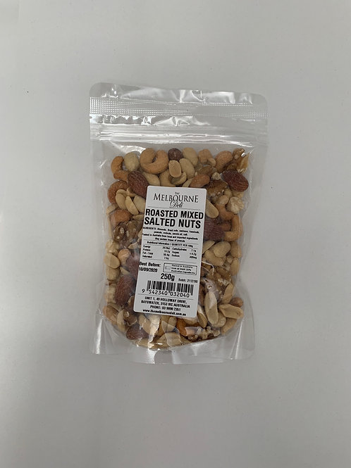 Mixed Nuts Roasted Salted 250g