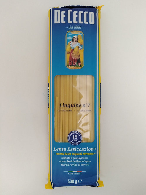 Linguini 500g De Cecco