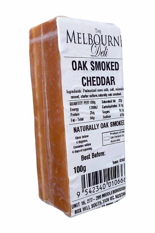 Oak Smoked Cheddar 100g