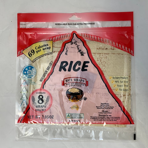 Mountain Bread Wrap Rice 200g