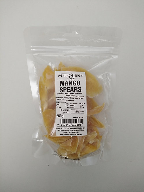 Mango Spears 250g