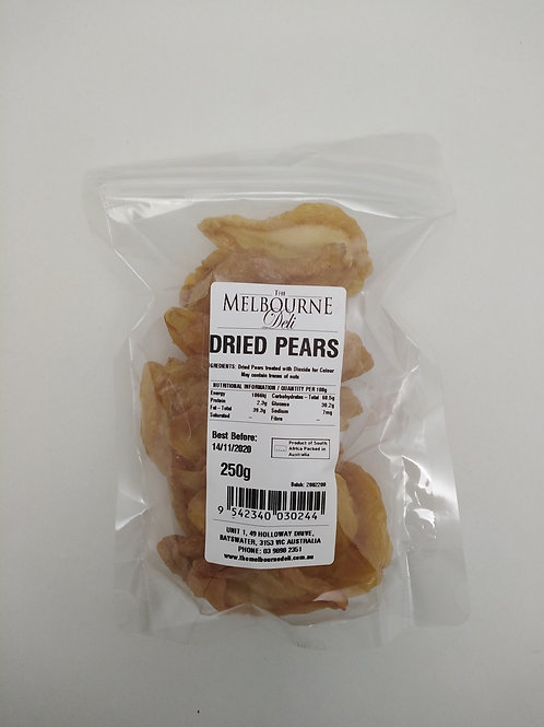 Pears Dried 250g