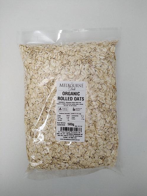 Rolled Oats Organic 500g
