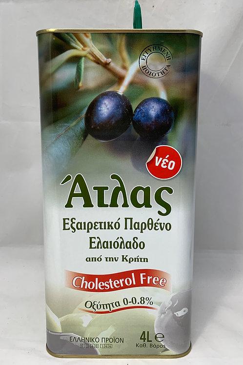 Atlas Extra Virgin Olive Oil 4Lt