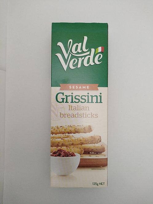 Grissini Sesame Bread Sticks 125g Val Verde