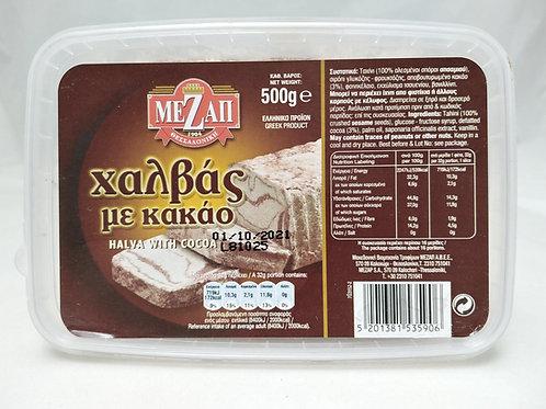 Halva Tub Cocoa 500g