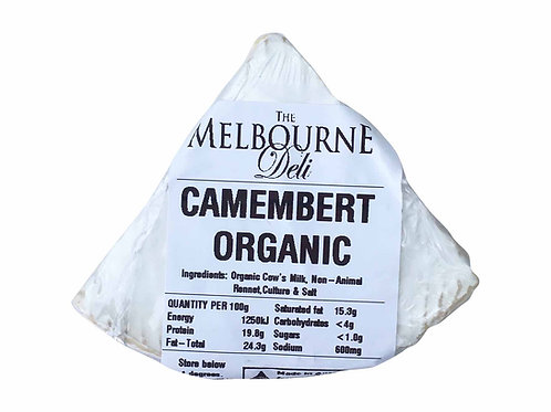 Camembert Organic (UD) 100g