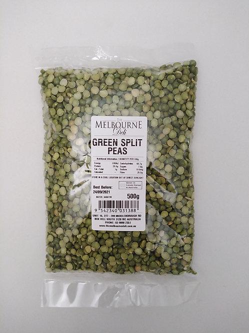 Green Split Peas 500g