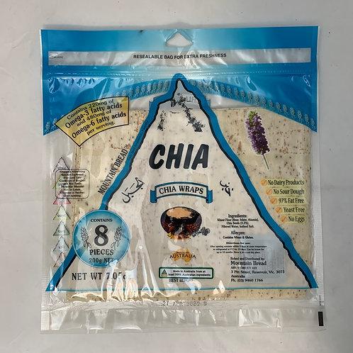 Mountain Bread Wrap Chia 200g