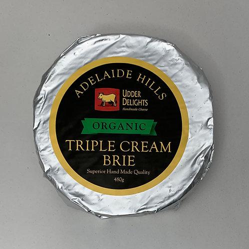 Triple Cream Brie Organic 480g