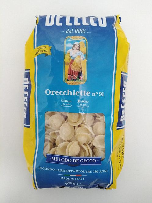 Orecchiette Pasta 500g De Cecco
