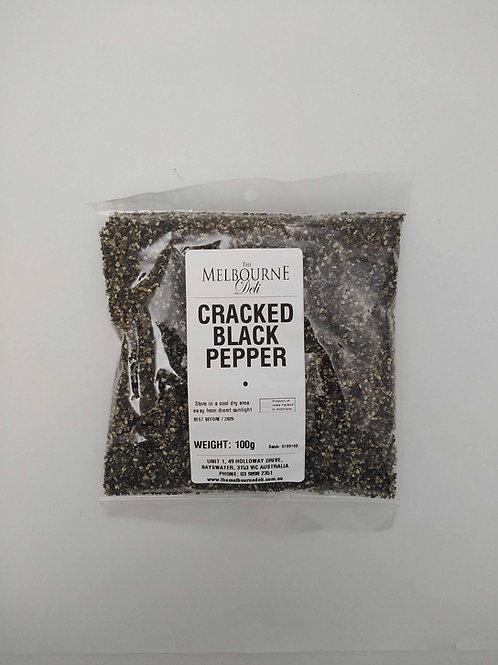 Black Pepper Cracked 100g