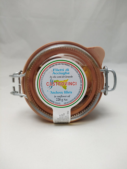 Anchovies in Oil 220g