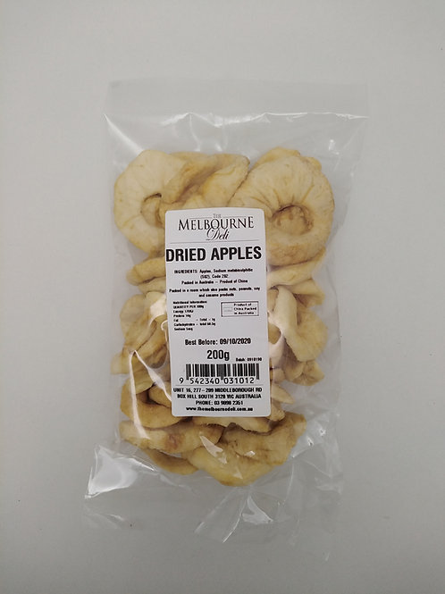 Apple Rings Dried 200g