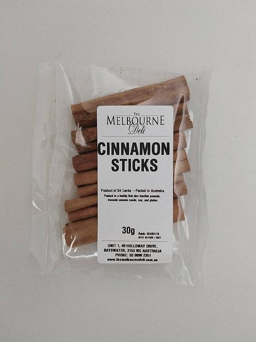 Cinnamon Sticks 30g