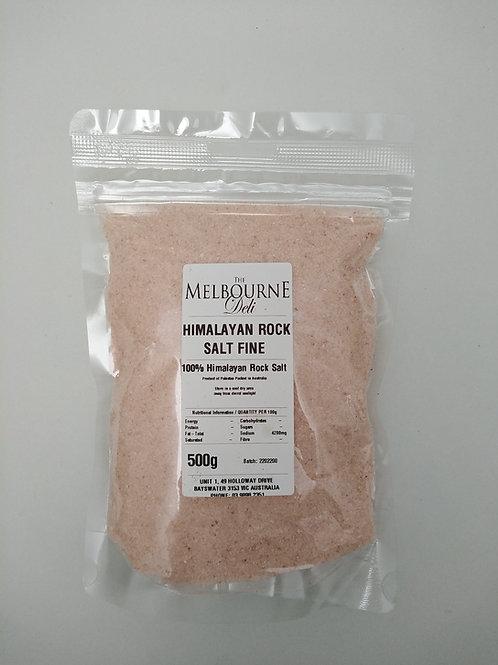 Himalayan Salt Ground 500g Pouch
