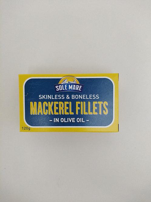 Mackerel in Olive Oil 120g Sole Mare