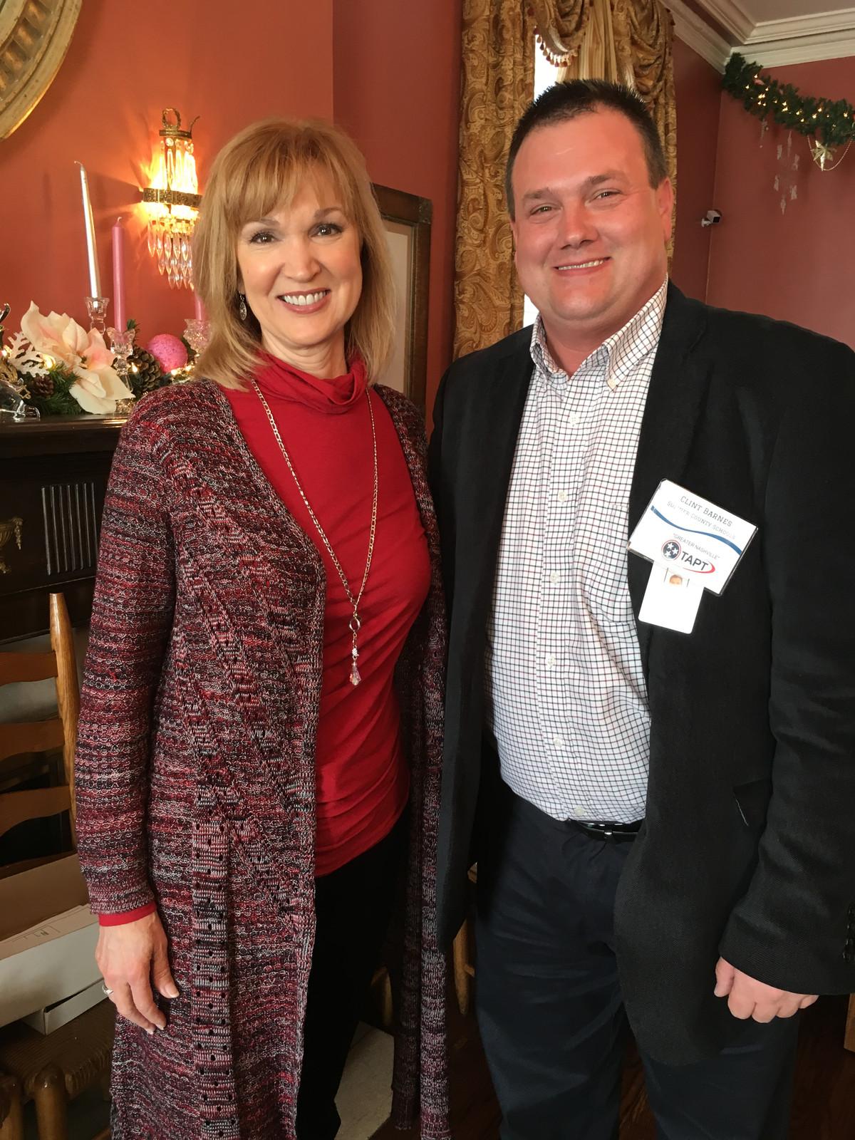 TAPT President Clint Banes & Lisa Spencer News Channel 4