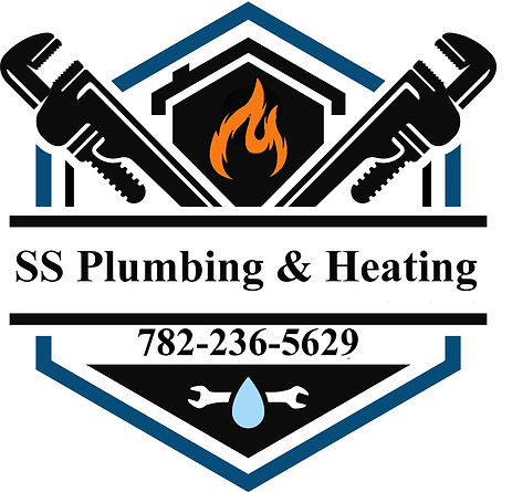 SS PLUMBING AND HEATING LOGO Leannes num