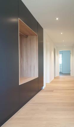 Canton Zurigo - Abitazione privata, armadiatura da ingresso (in esclusiva per Abitabel AG)