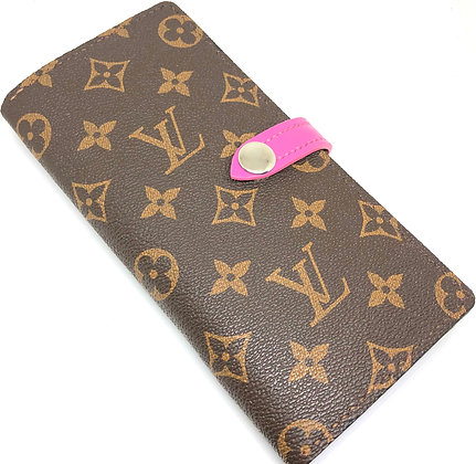 Made-to-Order Authentic LV Snap Wallet