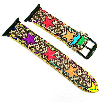 Made-to-Order Gucci Multi-Star Watch Straps