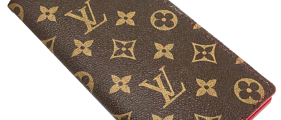 Made-to-Order  Authentic Upcycled LV Long Wallet (NO SNAP)