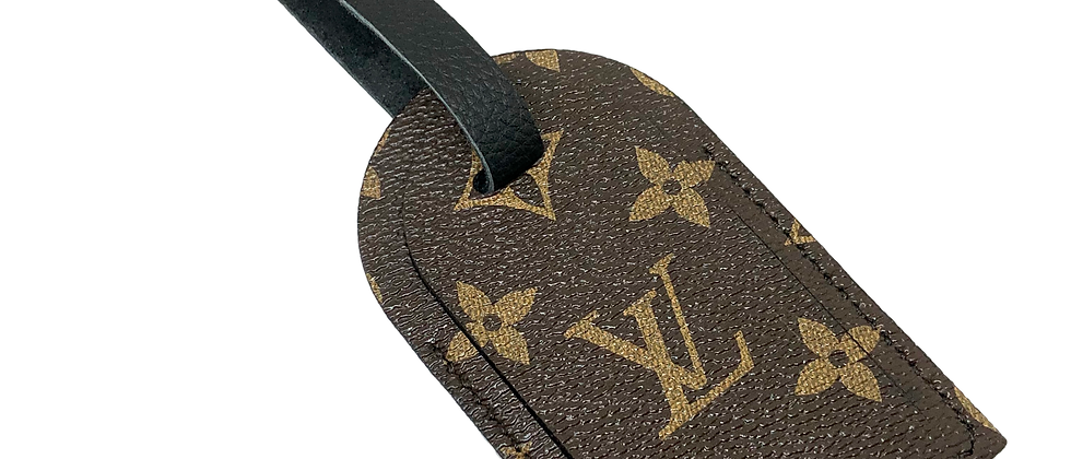 Made-to-Order Upcycled LV Luggage Tag