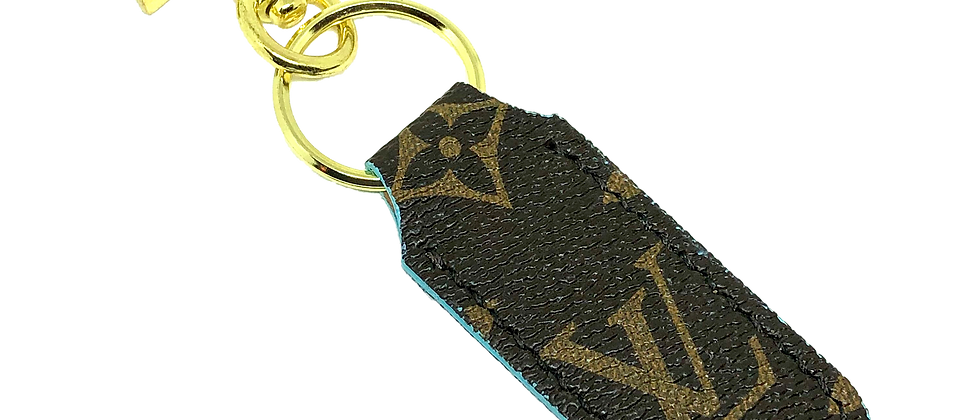 Made-to-Order Upcycled LVKeychain